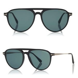 New TOM FORD Carlo Aviator Sunglasses